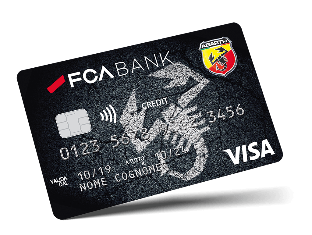 Carta di Credito FCA Bank - Abarth